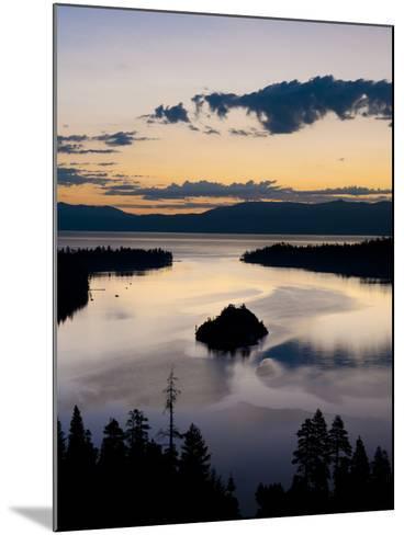 South Lake Tahoe, Nevada-Brad Beck-Mounted Photographic Print