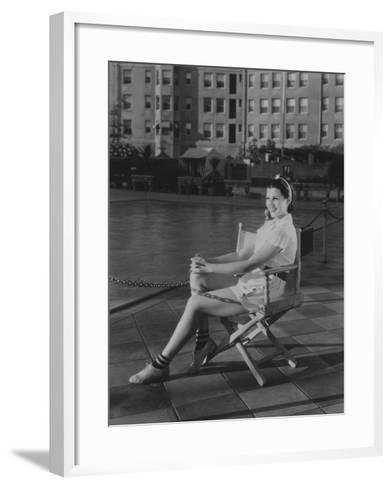 Rita Hayworth, 1935--Framed Art Print