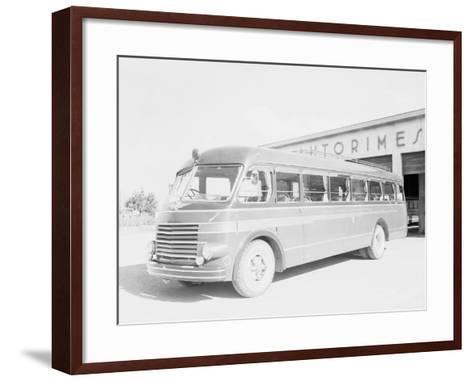One of the Bologna City Buses-A^ Villani-Framed Art Print