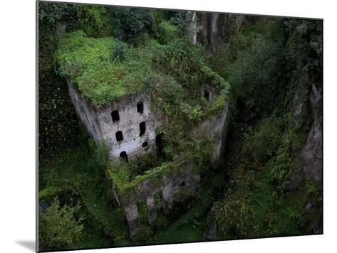 Sorrento, Italy: the Old Mill Located Near the Heart of Sorrento.-Ian Shive-Mounted Photographic Print