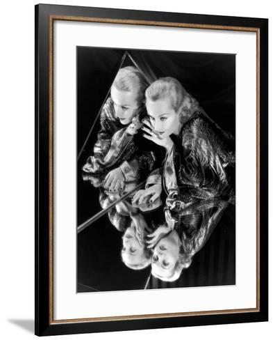 Carole Lombard, 1935--Framed Art Print