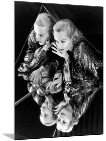 Carole Lombard, 1935--Mounted Photographic Print