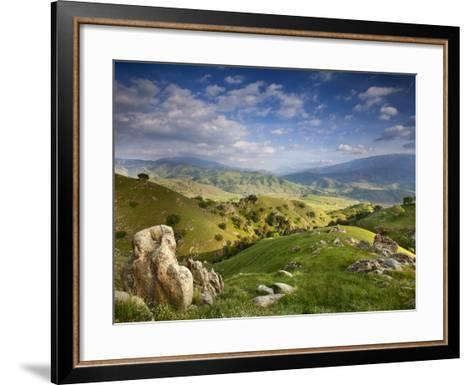 Rolling Green Hills of Central California No.4-Ian Shive-Framed Art Print