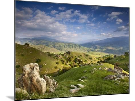 Rolling Green Hills of Central California No.4-Ian Shive-Mounted Photographic Print