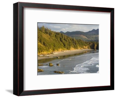 Sunset on the Beach-Sergio Ballivian-Framed Art Print