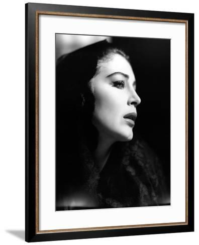 "Ava Gardner. ""The Naked Maja"" 1958, Directed by Henry Koster--Framed Art Print"
