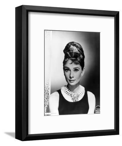 "Audrey Hepburn. ""Breakfast At Tiffany's"" 1961, Directed by Blake Edwards--Framed Art Print"