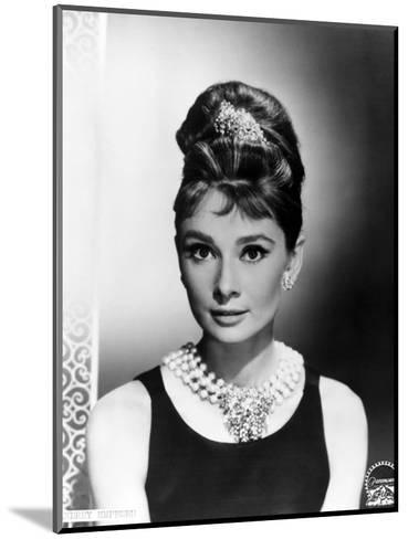"Audrey Hepburn. ""Breakfast At Tiffany's"" 1961, Directed by Blake Edwards--Mounted Photographic Print"