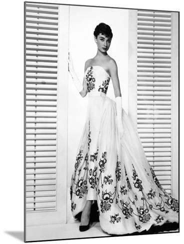 "Audrey Hepburn. ""Sabrina Fair"" 1954, ""Sabrina"" Directed by Billy Wilder. Custome by Edith Head--Mounted Photographic Print"