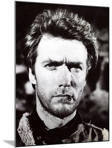 """Clint Eastwood. """"A Fistful of Dollars"""" 1964, """"Per Un Pugno Di Dollari"""" Directed by Sergio Leone--Mounted Photographic Print"""