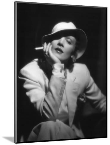 The Devil Is a Woman, Marlene Dietrich, Directed by Josef Von Sternberg, 1935--Mounted Photographic Print