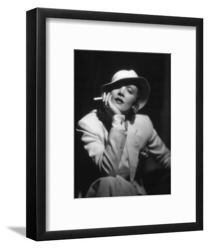 The Devil Is a Woman, Marlene Dietrich, Directed by Josef Von Sternberg, 1935--Framed Art Print