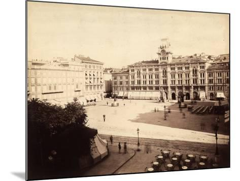 View of the Town Hall in Trieste-Giuseppe Wulz-Mounted Photographic Print