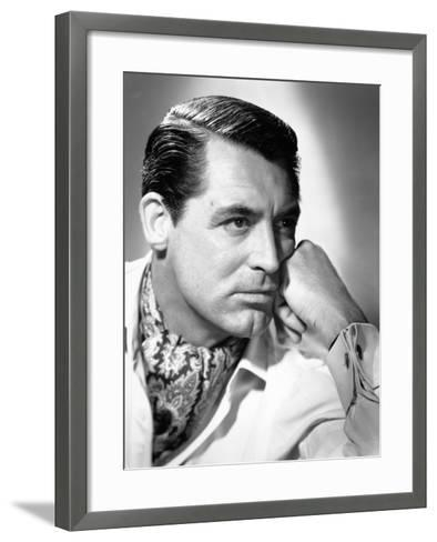 "Cary Grant. ""Notorious"" 1946, Directed by Alfred Hitchcock--Framed Art Print"