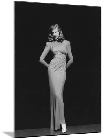 Lauren Bacall, 1944--Mounted Photographic Print