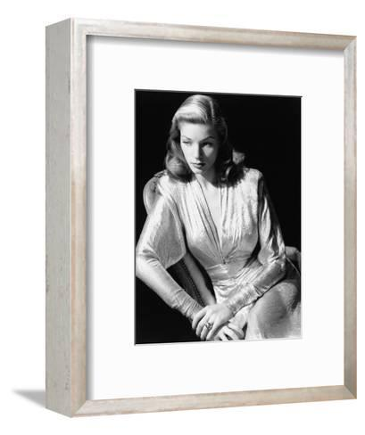 Lauren Bacall, 1945. 1945--Framed Art Print