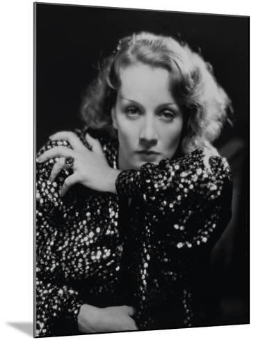 """Marlene Dietrich. """"Shanghai Express"""" 1932, Directed by Josef Von Sternberg--Mounted Photographic Print"""