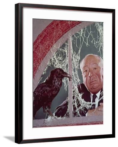 Alfred Hitchcock, The Birds, 1963--Framed Art Print