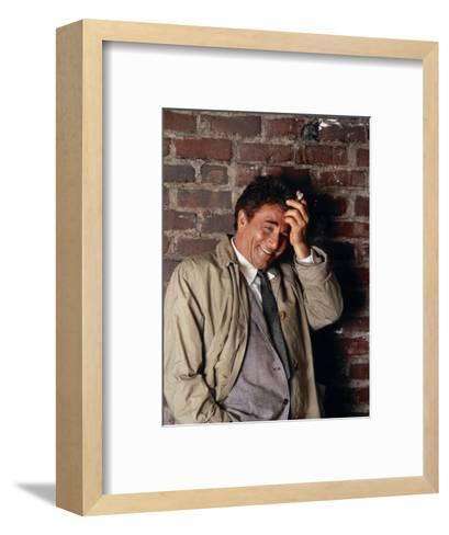 Peter Falk, Columbo, 1968--Framed Art Print