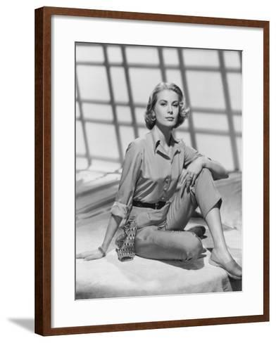 Grace Kelly--Framed Art Print