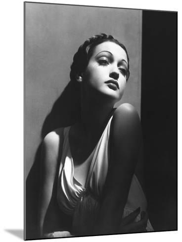 Dorothy Lamour, 1937--Mounted Photographic Print