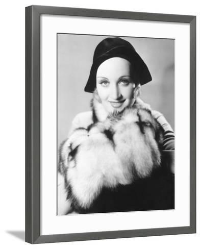 Carole Lombard--Framed Art Print