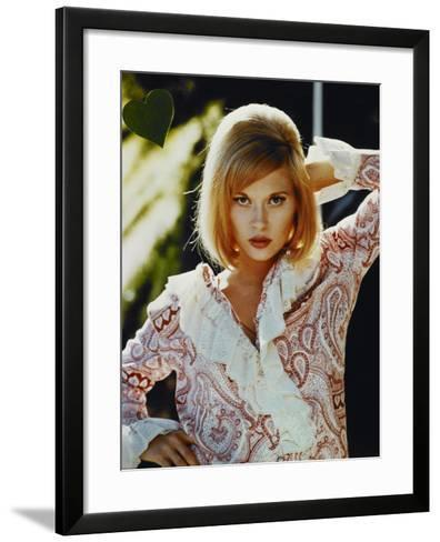 "Faye Dunaway. ""Bonnie And Clyde"" 1967, Directed by Arthur Penn--Framed Art Print"