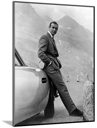 """Sean Connery. """"007, James Bond: Goldfinger"""" 1964, """"Goldfinger"""" Directed by Guy Hamilton--Mounted Photographic Print"""