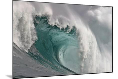 A Wave Breaking in the Atlantic Ocean-Nic Bothma-Mounted Photographic Print