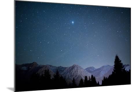 A Star-Studded Sky-Alessandro Della Bella-Mounted Photographic Print