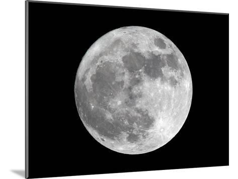 View of a Full Perigee Moon over Manila-Dennis M. Sabangan-Mounted Photographic Print