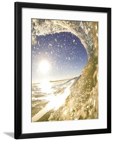 Surfers and the Waves They Ride-Daniel Kuras-Framed Art Print