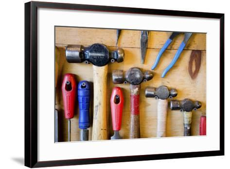 The Handcrafted Process of Creating a One of a Kind Chef Knife-Daniel Kuras-Framed Art Print