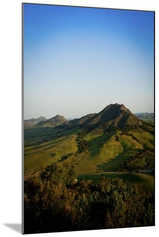 A Sunrise Hike Up Maddona Mountain with Beautiful Views of San Luis Obispo, California-Daniel Kuras-Mounted Photographic Print