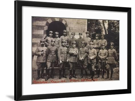 Free State of Verhovac-July 1916: Soldiers of the Third Battalion 69th Infantry Regiment--Framed Art Print