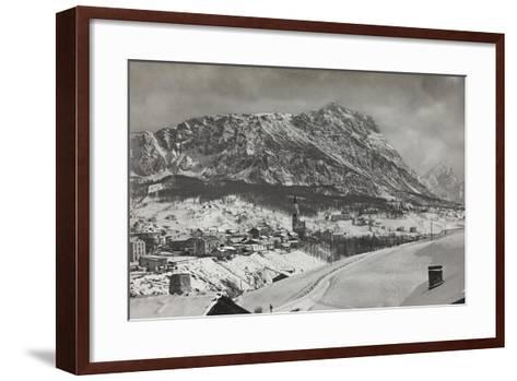 View of Cortina D Ampezzo--Framed Art Print