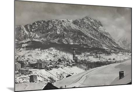 View of Cortina D Ampezzo--Mounted Photographic Print