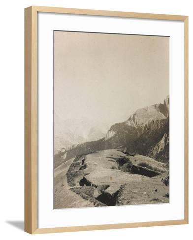 World War I: Second-Line Trenches--Framed Art Print