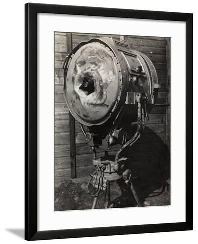 World War I: Projector Used During the War--Framed Art Print