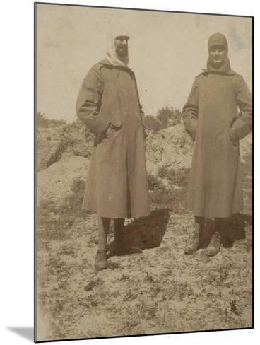 Soldiers with Coat--Mounted Photographic Print