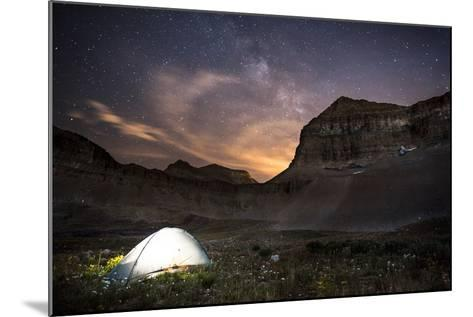 Backcountry Camp under the Stars-Lindsay Daniels-Mounted Photographic Print