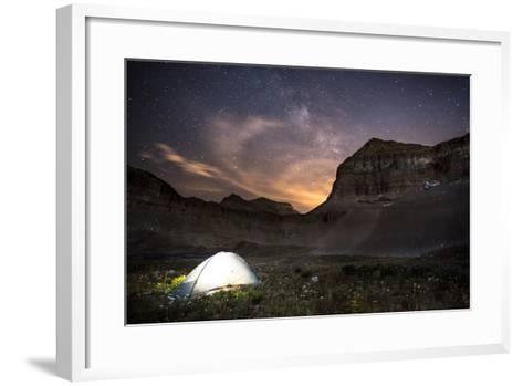 Backcountry Camp under the Stars-Lindsay Daniels-Framed Art Print