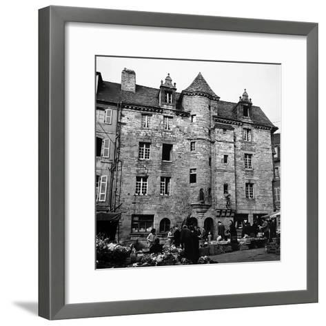 The Palace of Landerneau-Pietro Ronchetti-Framed Art Print