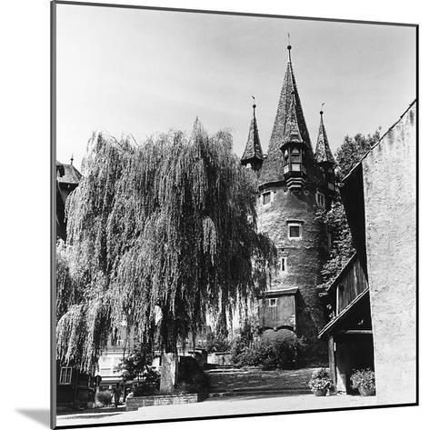 The Evocative Medieval Tower Diebsturm (Tower of Thieves) in Lindau, Baveria-Pietro Ronchetti-Mounted Photographic Print