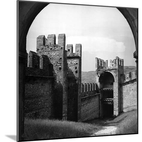 View of the City Walls of Soave-Pietro Ronchetti-Mounted Photographic Print