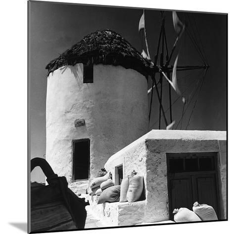 A Windmill in Greece-Pietro Ronchetti-Mounted Photographic Print