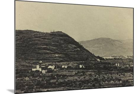 Visions of War 1915-1918: View of Mount Podgora During the First World War-Vincenzo Aragozzini-Mounted Photographic Print
