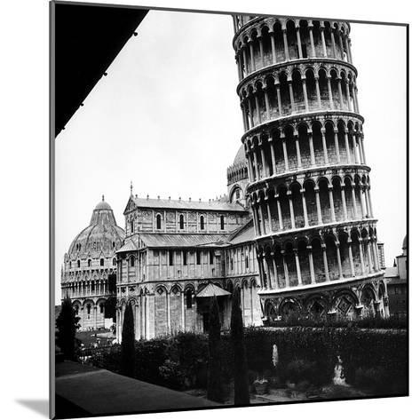The Tower, One Arm of the Transept of the Cathedral and the Baptistry of Pisa-Pietro Ronchetti-Mounted Photographic Print