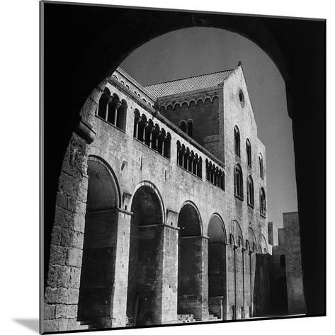 The South Side of the Basilica of San Nicola in Bari-Pietro Ronchetti-Mounted Photographic Print