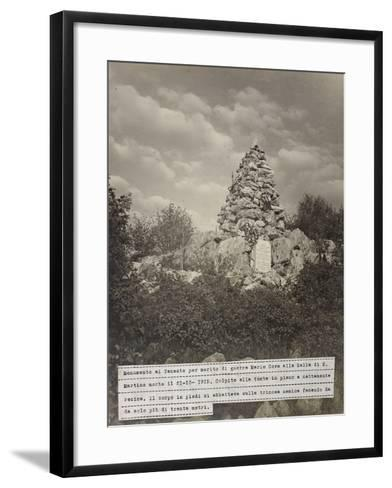 Sella Di San Martino--Framed Art Print